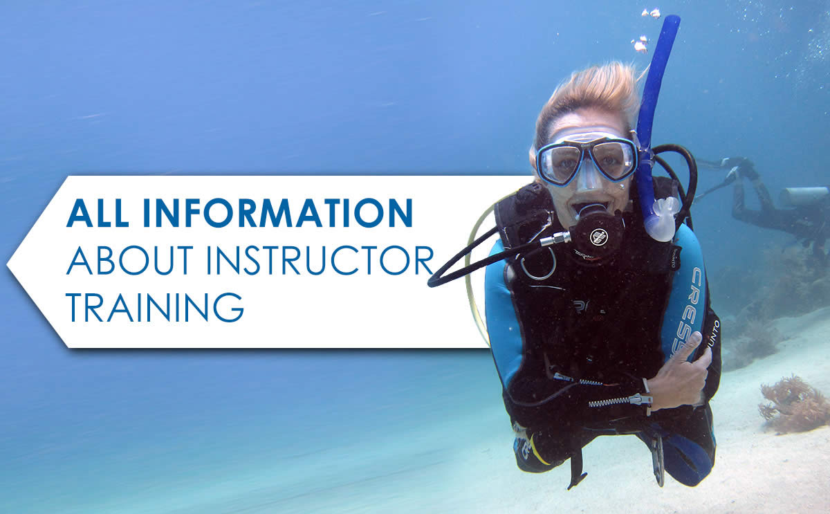 PADI instructor course, IDC, Staff Instructor, english, Instructor Development course, Emergency First Response (EFR), Course Director, Assistant Instructor