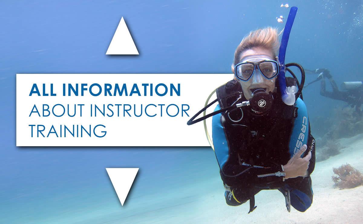 Become a PADI Scuba Instructor - Diving Sabbatical Egypt